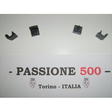 KIT OF 4 BUMPER PIN FOR DOORS FIAT 500