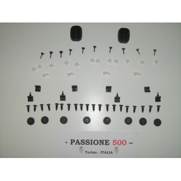 COMPLETE VARIOUS RUBBER KIT - 66 PCS. - FIAT 500