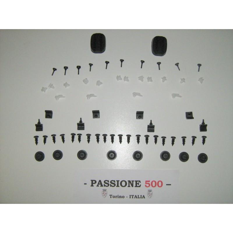 COMPLETE VARIOUS RUBBER KIT - 66 PCS. - FIAT 500