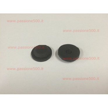 PAIR OF RUBBER PLUG FOR FLOOR PAN - hole diameter 17 mm FIAT 500
