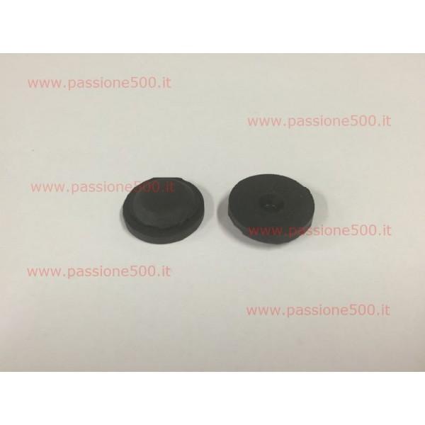 PAIR OF RUBBER PLUG FOR FLOOR PAN - hole diameter 17 mm FIAT 500