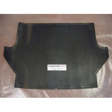 REAR FLOOR RUBBER MAT FIAT 500 GIARDINIERA