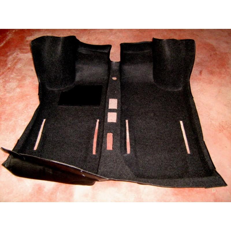 BLACK INTERIOR MOULDED CARPET IN MOQUETTE FIAT 500