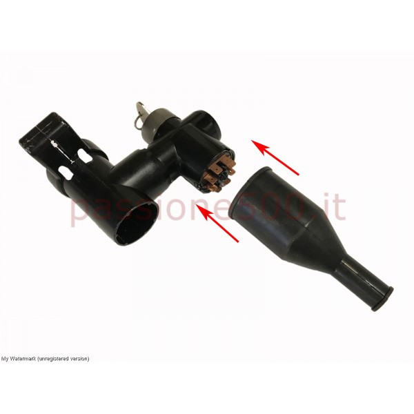 RUBBER BOOT FOR STEERING LOCK FIAT 500