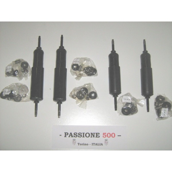 KIT OF FRONT AND REAR SHOCK ABSORBER FIAT 500