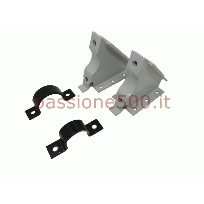 PAIR OF SUPPORT FOR FIAT STEERING BOX TYPE FIAT 126 ON FIAT 500