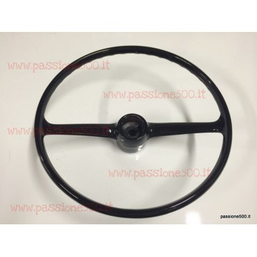 RESTORED STEERING WHEEL FIAT 500 R - GIARDINIERA (WITH RETURN OF THE USED)
